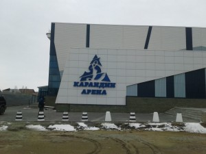 Изготовление и монтаж световой вывески для ледовой арены